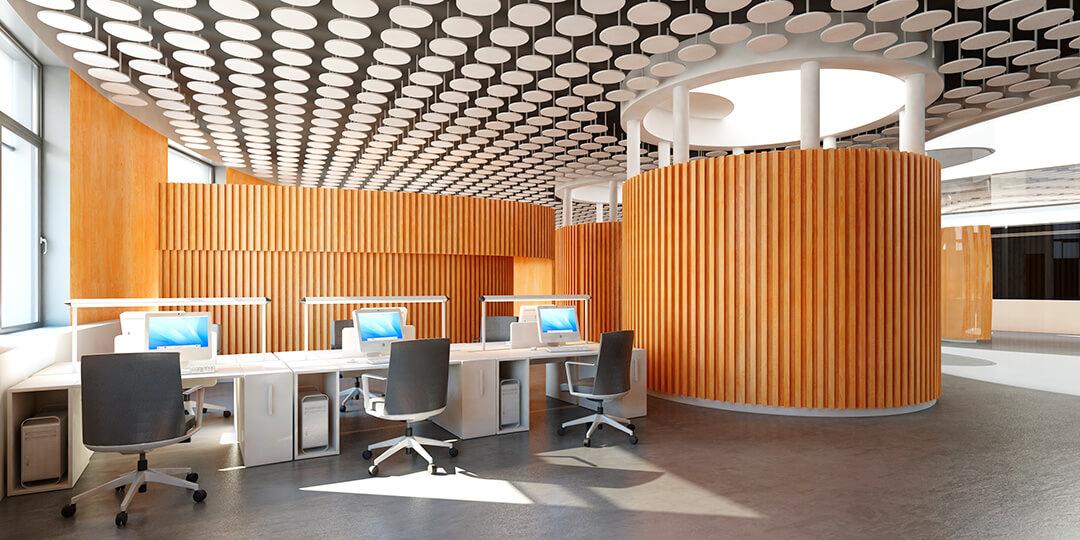 Ambiente interior en ZERO. Arquitectura y naturaleza de la mano
