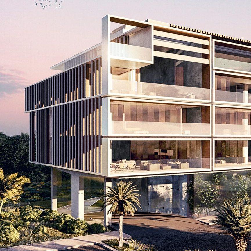 Edificio Shakkei arquitectos ezar